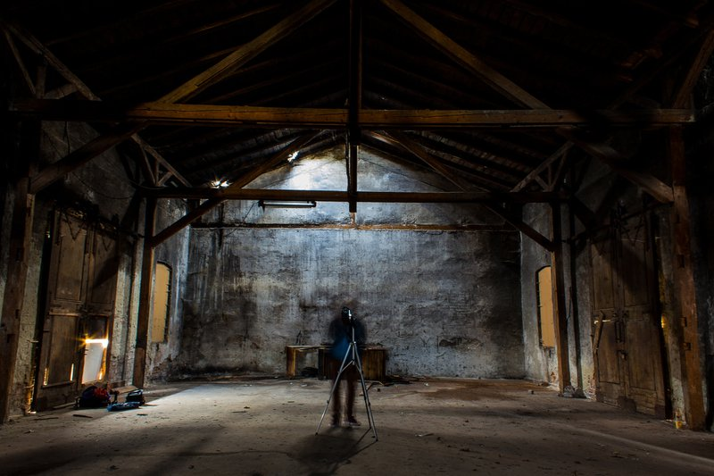 Ghost in a relinquished building
