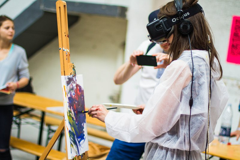 VR Painting @ Trailerpark I/O